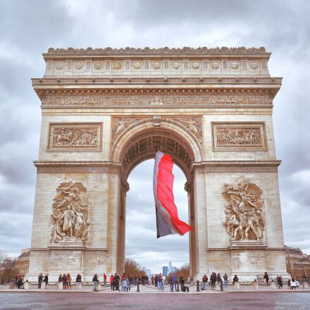 french, the arc de, Canon EOS 5D MARK III