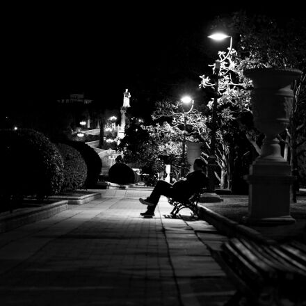 loneliness, silence, park, Canon EOS 60D
