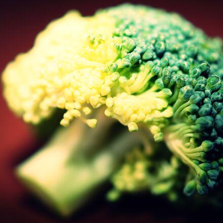 broccoli, macro, photography, Sony SLT-A58