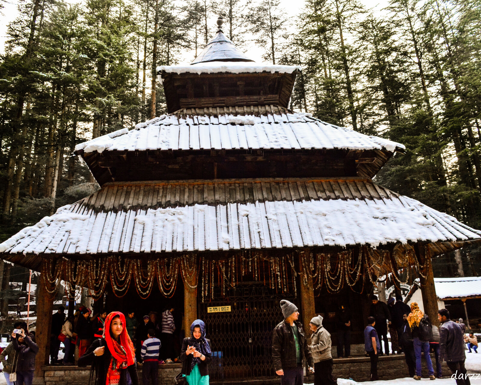 "Nikon D5200 sample photo. ""Devtional, hadimba, temple, temple"" photography"