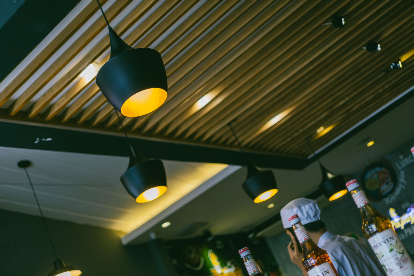 """Sony a6000 sample photo. """"Blur, business, indoors, inside"""" photography"""