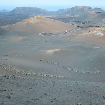 lanzarote, lava, volcano, Canon IXUS 255 HS
