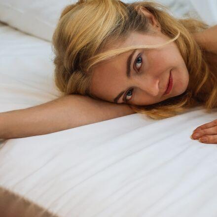 bed, bedroom, ease, Fujifilm X-E1