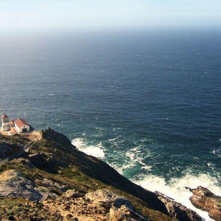 united states, sea, rock, Fujifilm FinePix F30