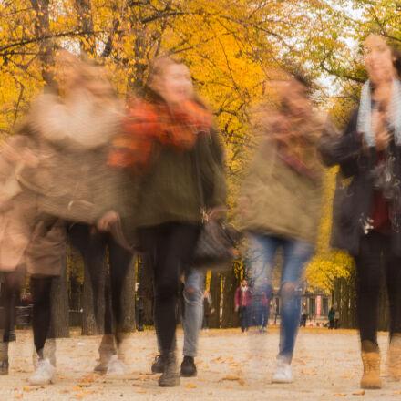 woman, street, friends, fun, Sony SLT-A58