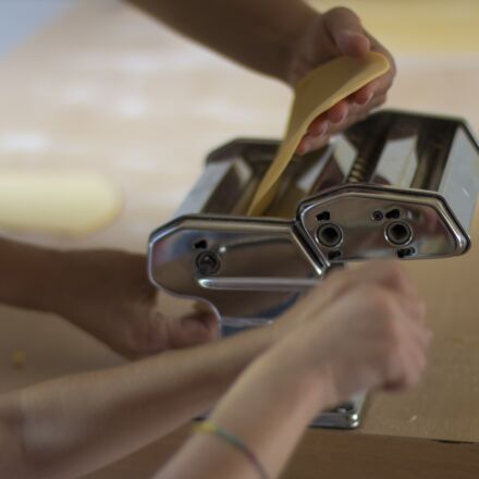 home-made pasta, cook, heat, Canon EOS 70D