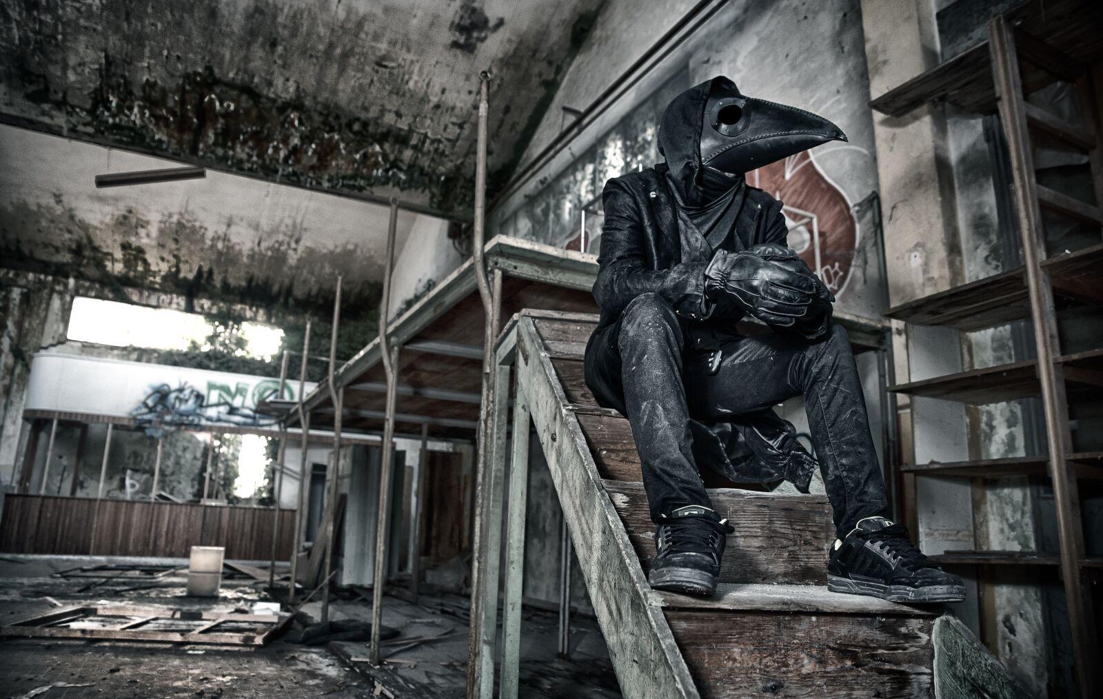"Nikon D750 sample photo. ""Death, dark, skull"" photography"