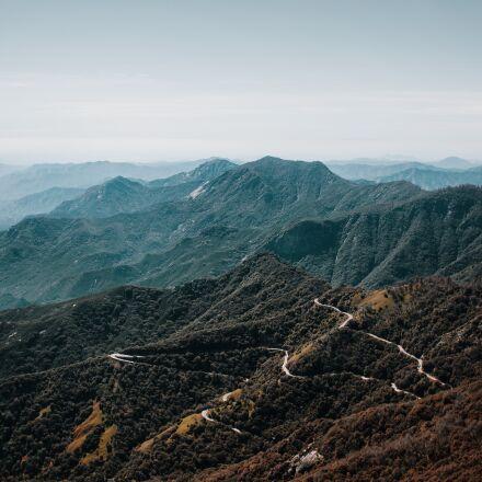 highland, landscape, mountain range, Canon EOS 5D MARK III