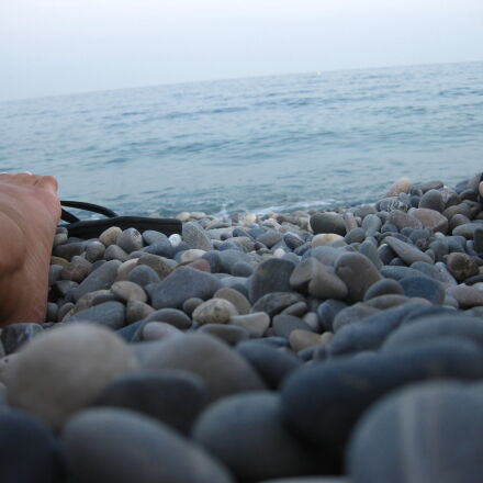 beach, pebble, beach, pebbles, Canon DIGITAL IXUS 85 IS