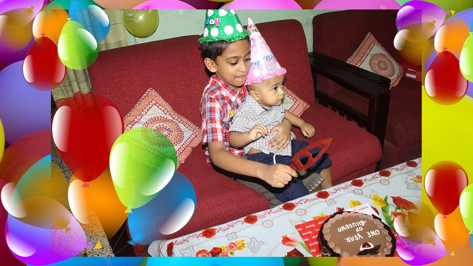 "Canon EOS 1100D (EOS Rebel T3 / EOS Kiss X50) sample photo. ""Birthday, boy, brother"" photography"