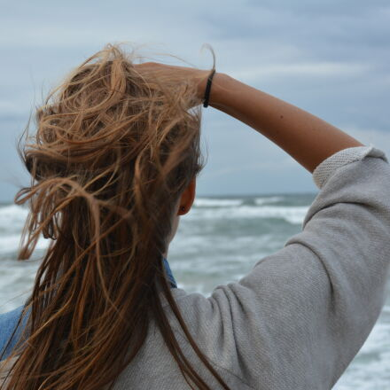 back, view, hair, observing, Nikon D7100