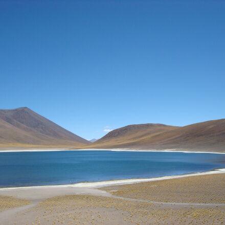 blue, chile, desert, isolated, Sony DSC-W90