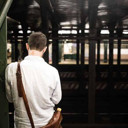 man, person, railroad, Canon EOS 6D