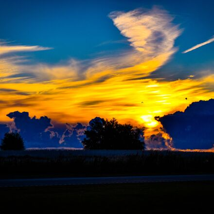 morningsky, sky, cloudscape, Nikon D5500