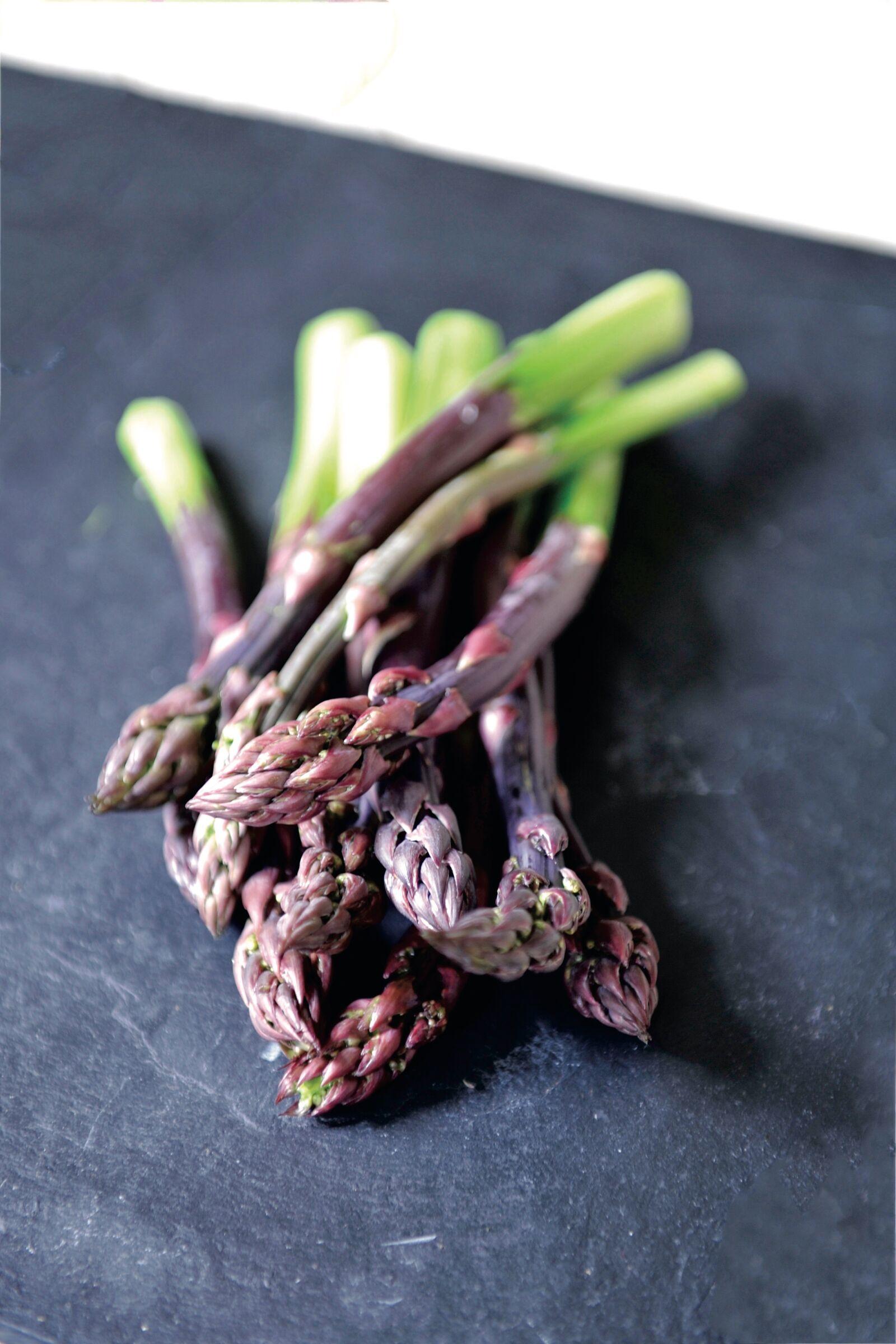 "Nikon D700 sample photo. ""Asparagus, green, vegetarian"" photography"