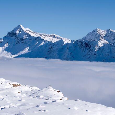 lace step, snow, alps, RICOH PENTAX K-1