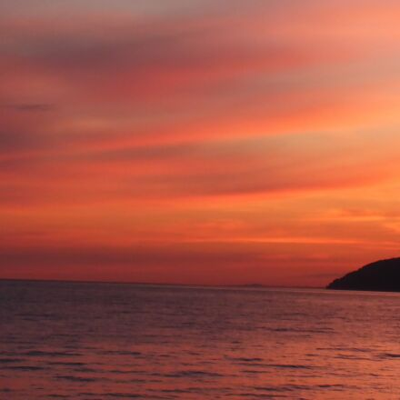 abkhazia, gagra, sunset, Panasonic DMC-FT5