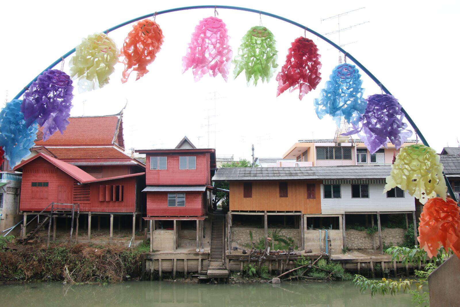 "Canon EOS 70D sample photo. ""Oldtown, petchaburi, thailand"" photography"