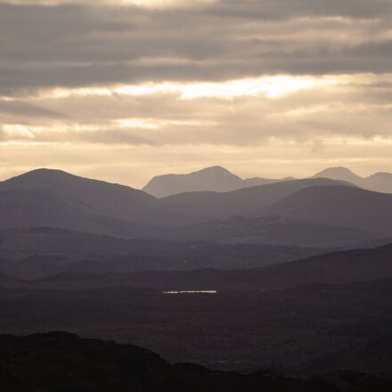 scotland, highlands, mountains, Sony ILCE-7RM2