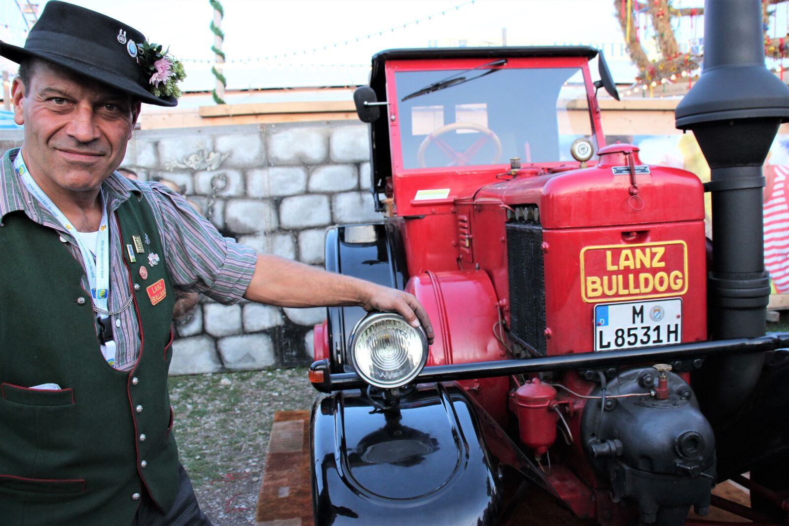 """Canon EOS 600D (Rebel EOS T3i / EOS Kiss X5) sample photo. """"Tractor, tractor driver, fair"""" photography"""