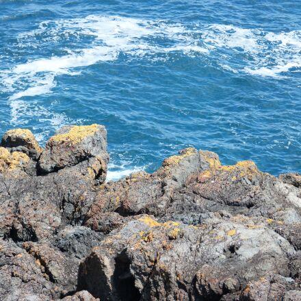 water, scenery, rocks, Panasonic DMC-FZ60