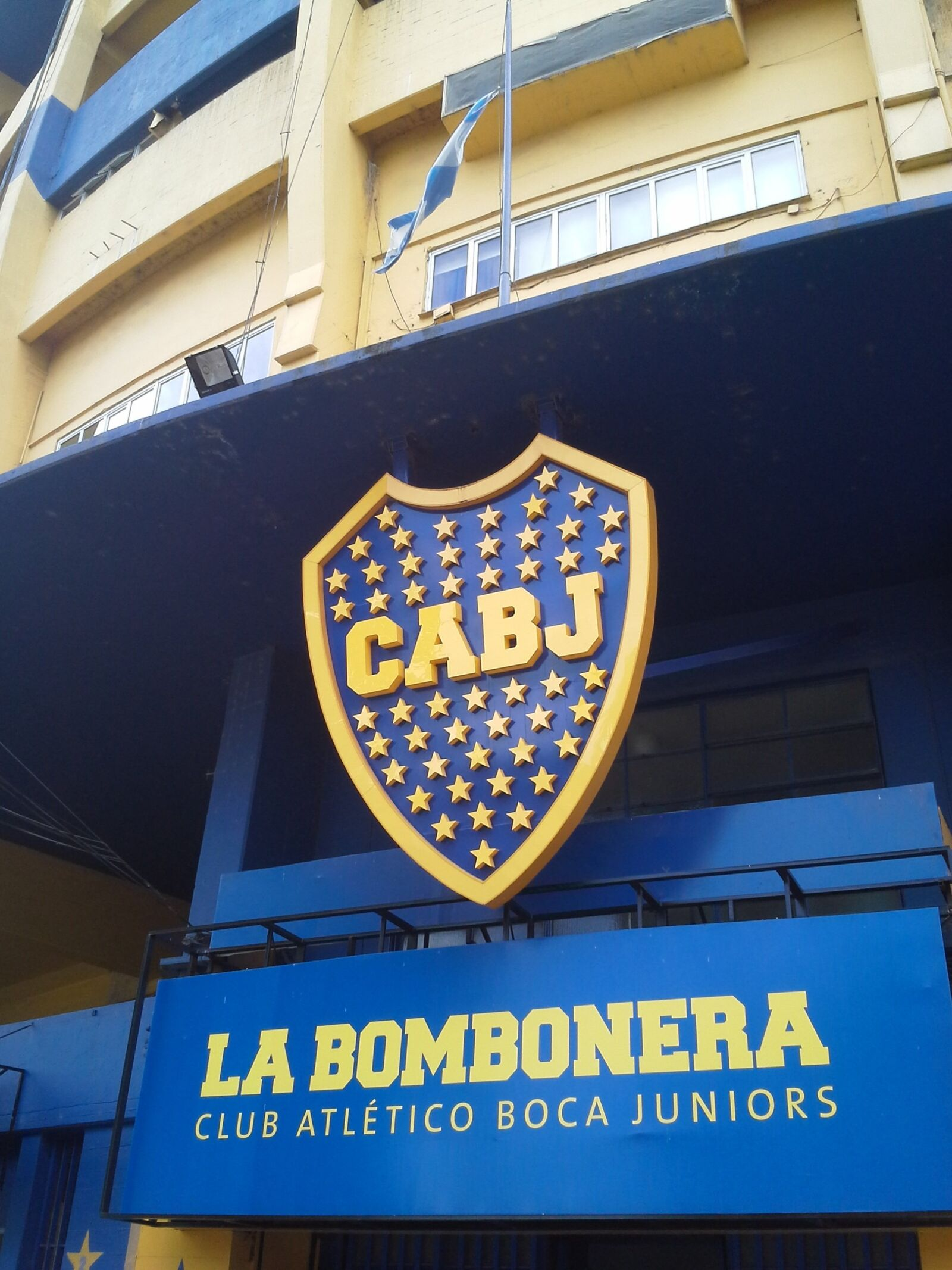 boca juniors, it bombonera