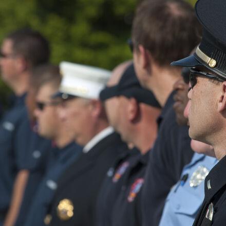 cop, fireman, police, Nikon D90