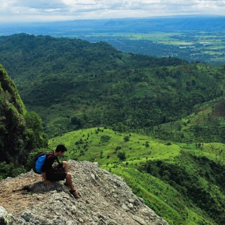 adventure, mountain, cliff, Canon EOS 600D
