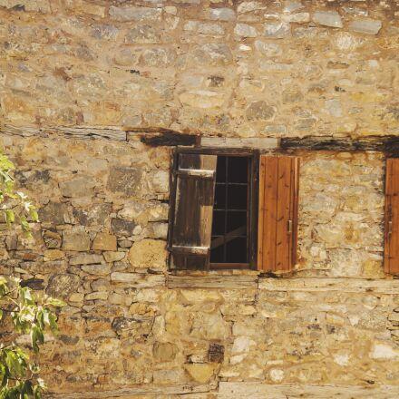 spinalonga, wall, old, Panasonic DMC-G10