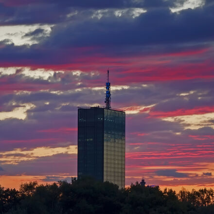 afternoon, antenna, belgrade, city, Canon EOS REBEL T2I