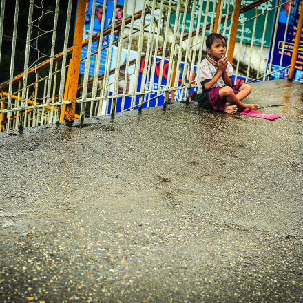 asia, begging, child, mission, Nikon D700