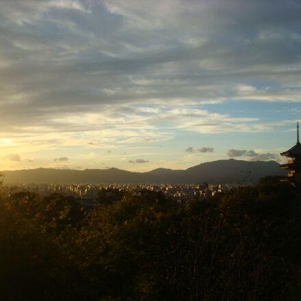 city, japan, kyoto, landscape, Sony DSC-W90