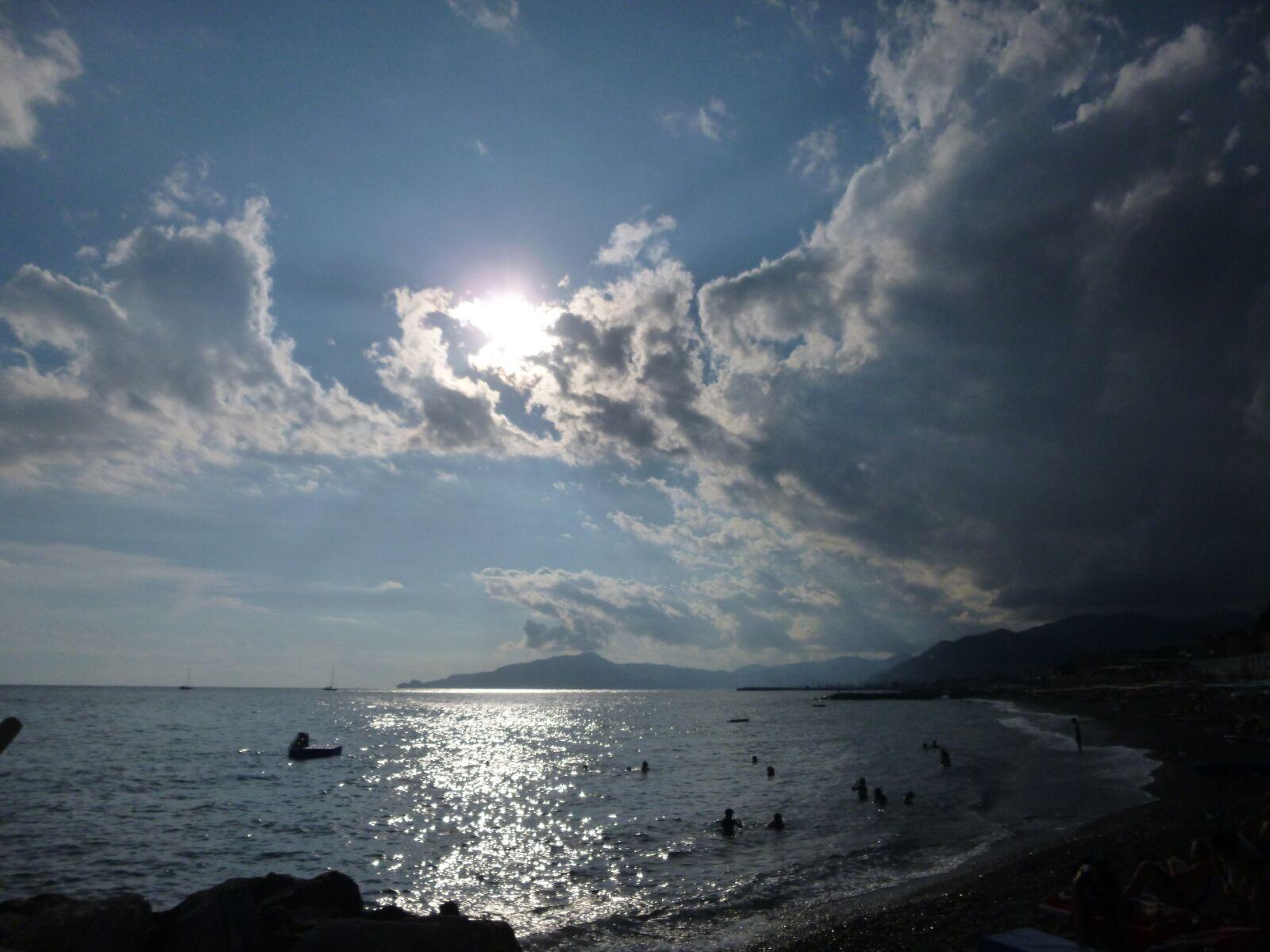 "Panasonic DMC-SZ3 sample photo. ""Sea, sunset, sky"" photography"