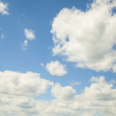 sky, blue, clouds, Canon EOS 5D MARK II