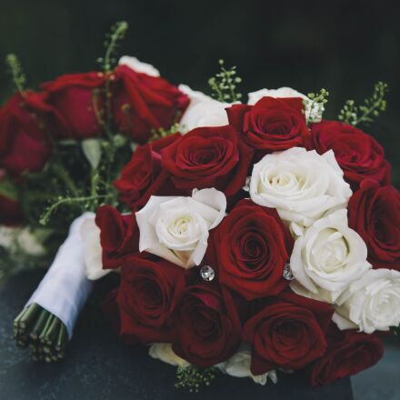 roses, bouquet, flowers, Canon EOS 5D MARK II