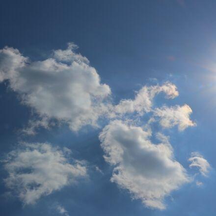 sky, solar, cloud, Canon EOS 100D