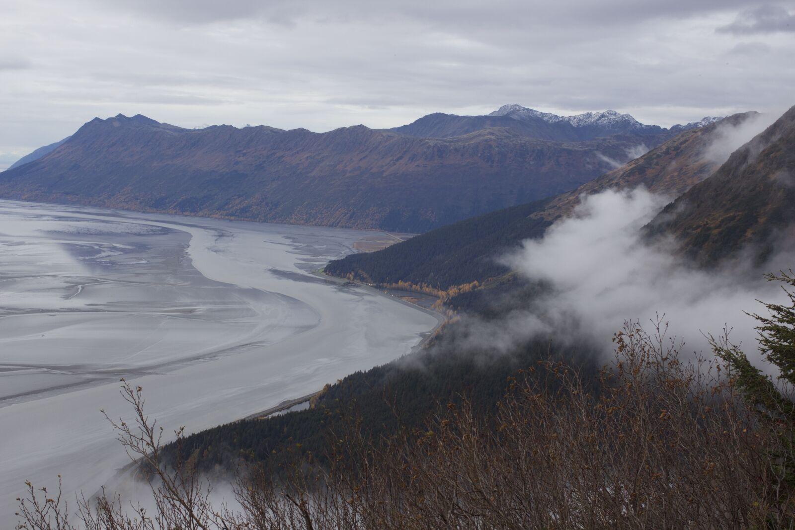 """Canon EOS 60D sample photo. """"Mountain, ocean, cloudy"""" photography"""