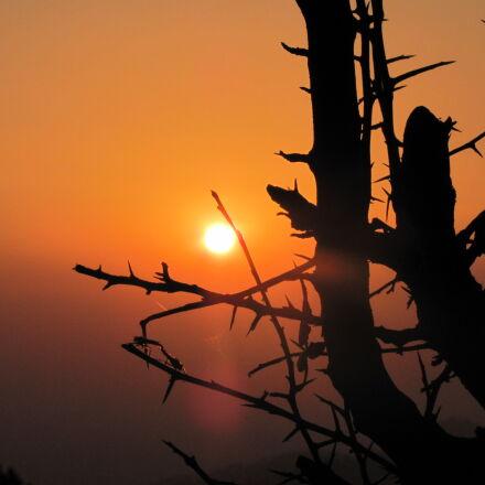sunset, Canon POWERSHOT SX120 IS