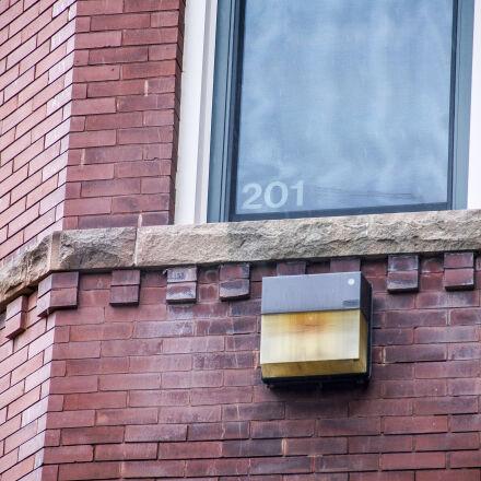 brick, building, window, Canon EOS 7D