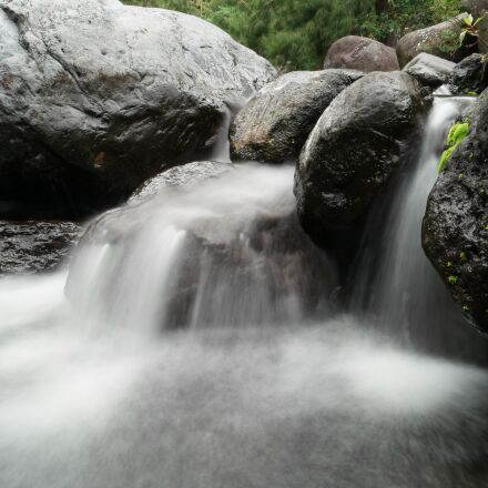 cascade, rock, it the, Samsung NX500