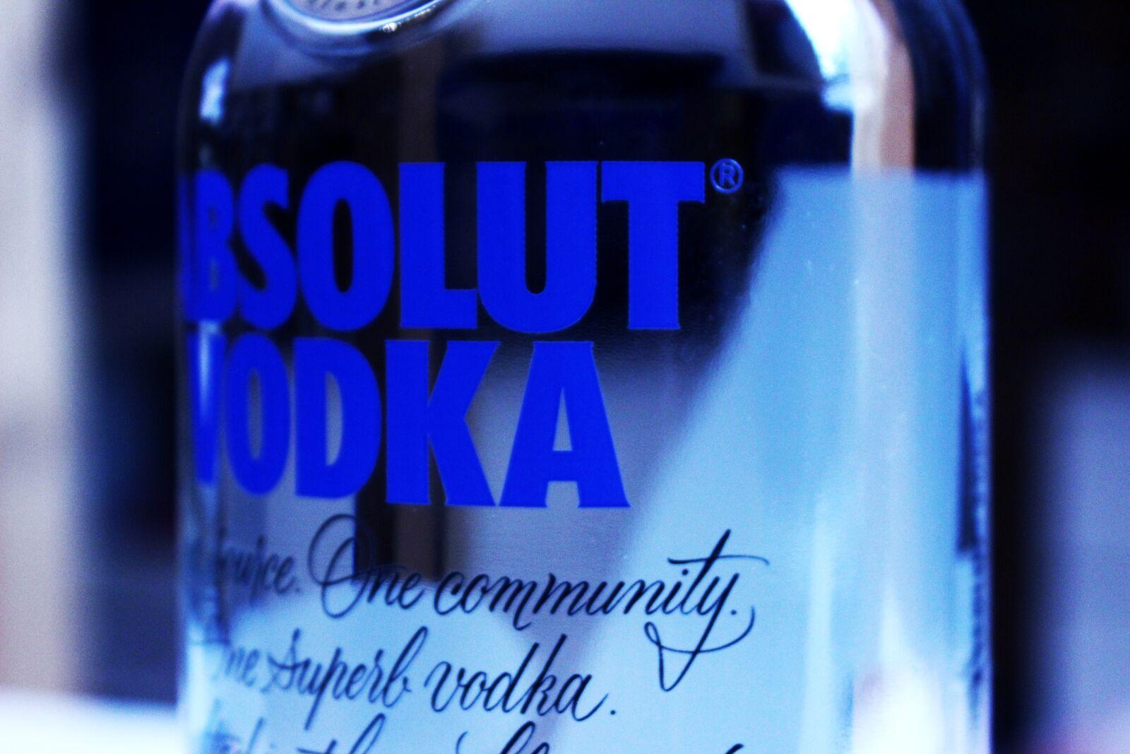 "Canon EOS 600D (Rebel EOS T3i / EOS Kiss X5) sample photo. ""Alcohol, absolutely vodka, vodka"" photography"
