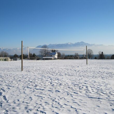 field, volleyball, snow, Canon POWERSHOT A3150 IS