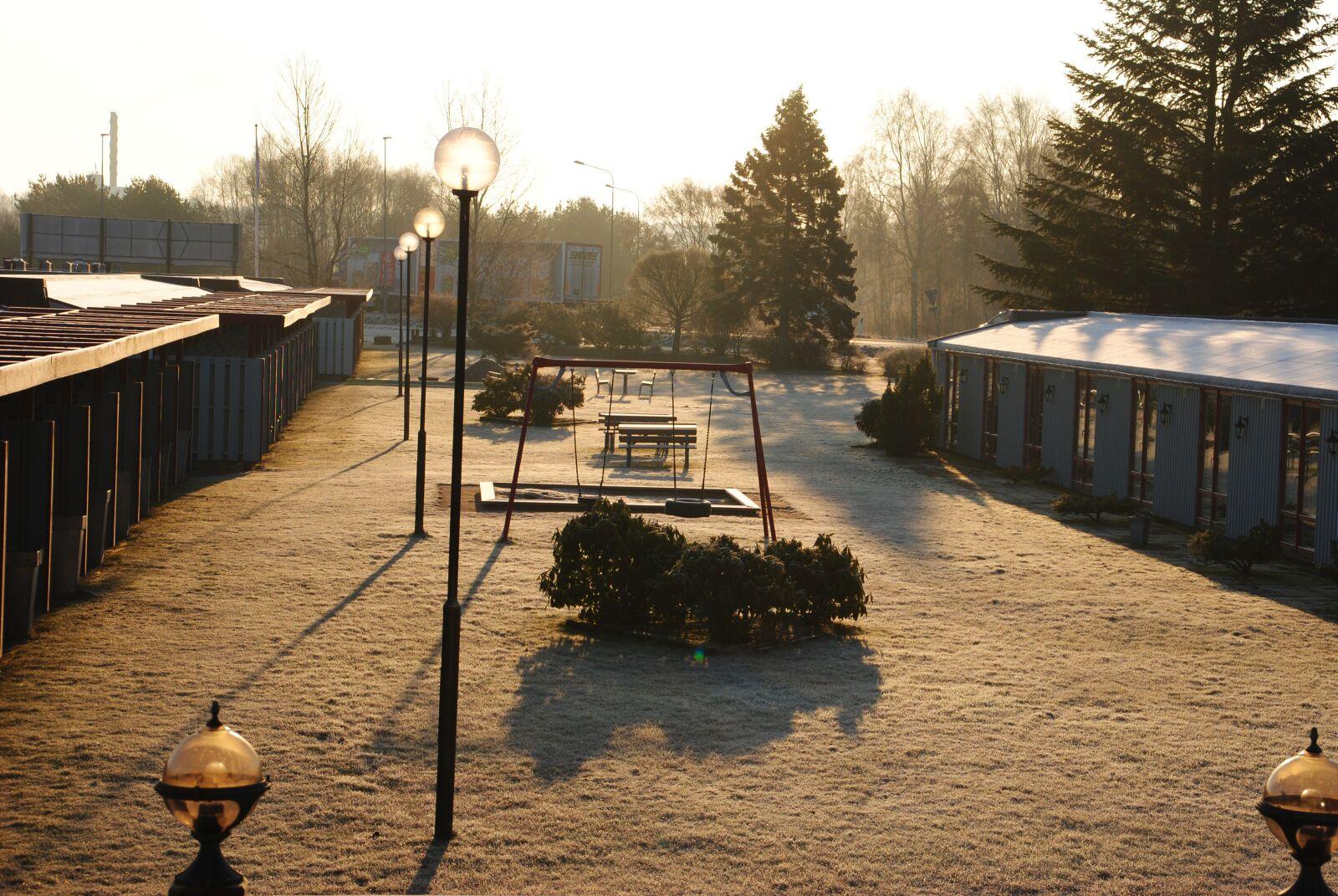 "Nikon D3000 sample photo. ""Hotels, winter, cold"" photography"