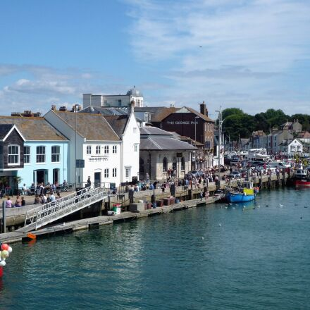 weymouth, harbour, england, Panasonic DMC-FX36