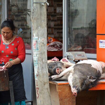 nepal, kathmandu, woman, Nikon 1 J1