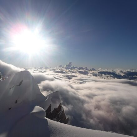 above the clouds, in, Fujifilm FinePix XP80 XP81 XP85