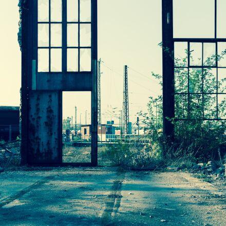 lost place, industry, lost, Fujifilm X-E1