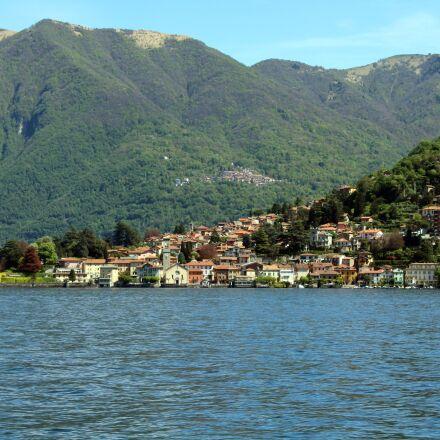 lake, como, italy, Canon EOS 1300D