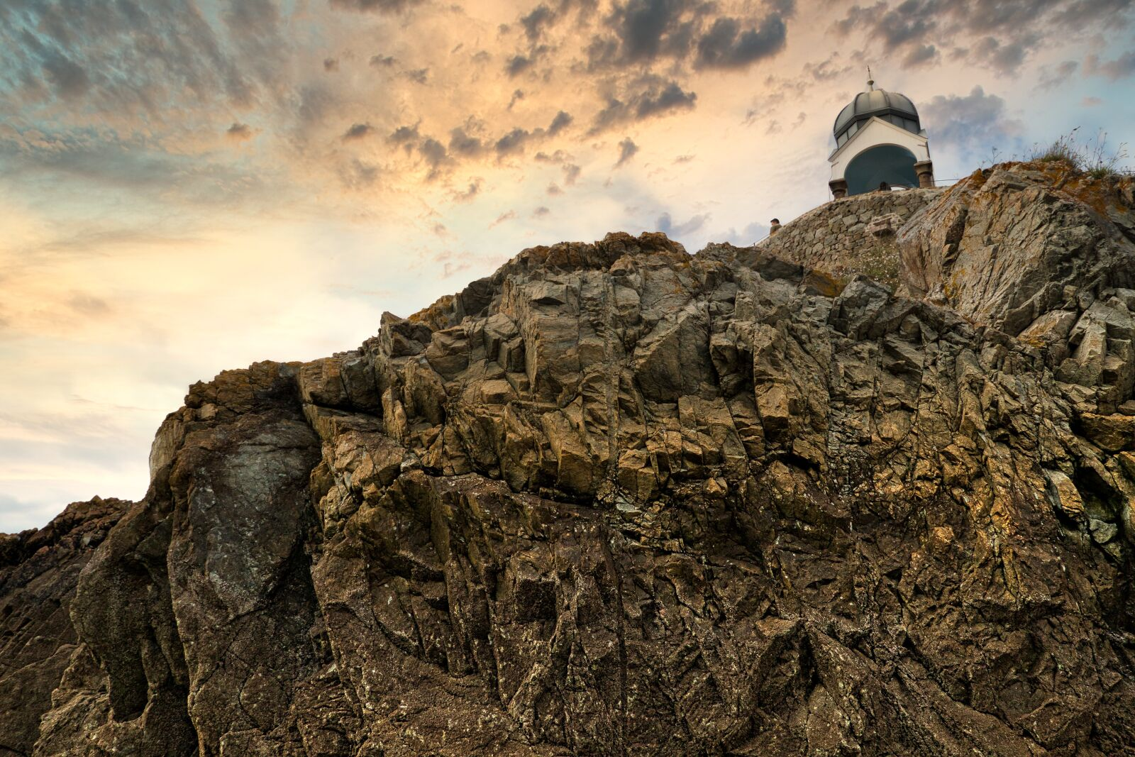 """Canon EOS 70D sample photo. """"Brittany, rocks, oratory"""" photography"""