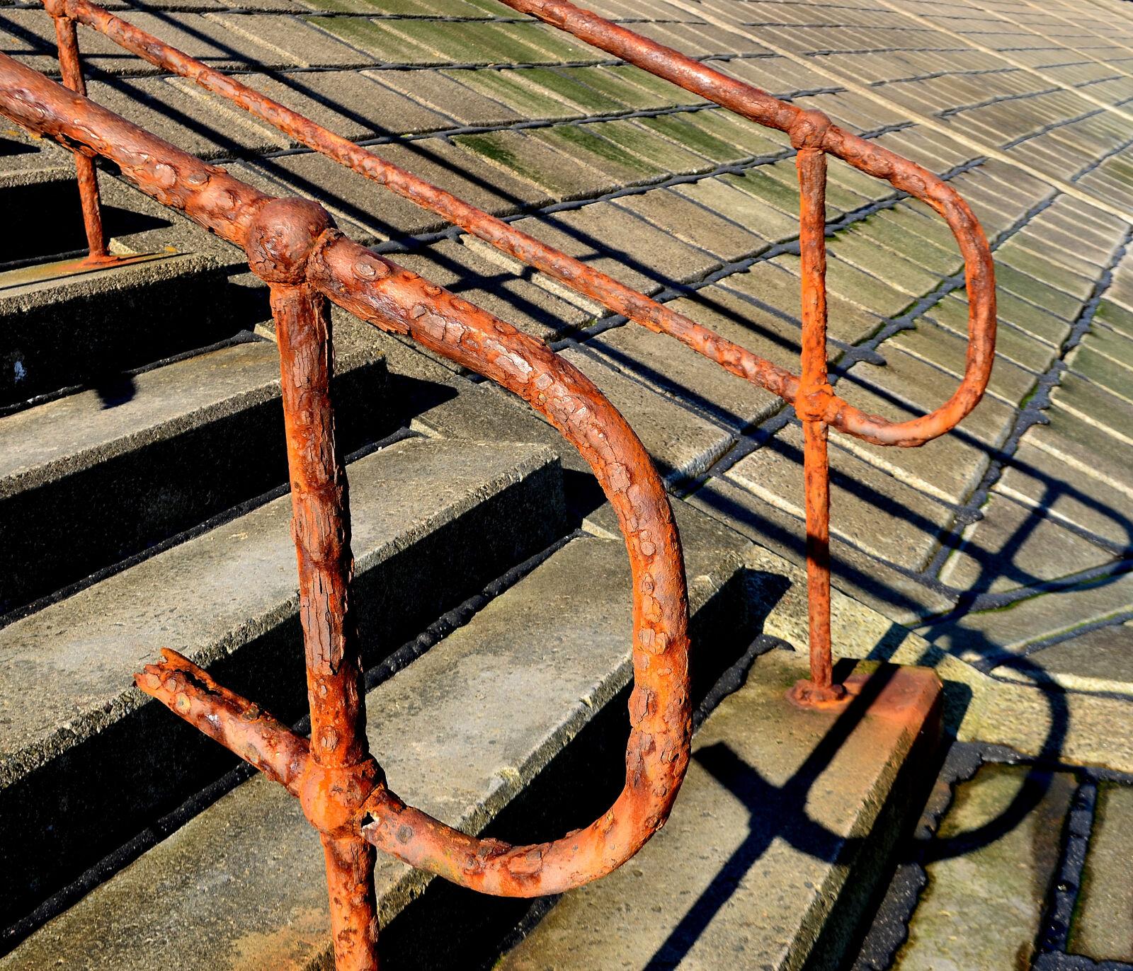 "Nikon D5100 sample photo. ""Rust, beach, brown, scotland"" photography"
